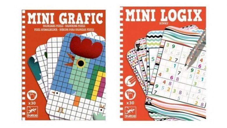 Zestawy mini od Djeco rozwijają zdolności manualne i logiczne myślenie (fot. mat. sklep.placfrancuski.pl)