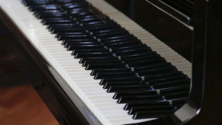 """Czym jest i jak powstaje muzyka dowiedzą się uczestnicy spotkań """"Dom Muzyki"""" (fot. Witalis Szołtys)"""
