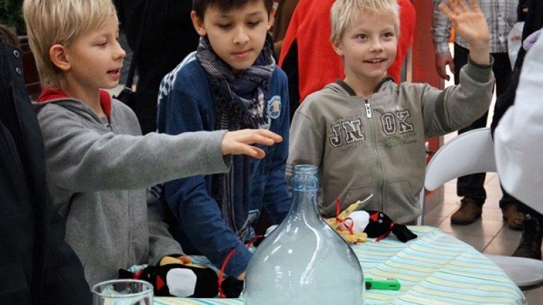 W tyskiej galerii City Point odbyły się ciekawe warsztaty artystyczne, kulinarne i eksperymentalne (fot. ola)