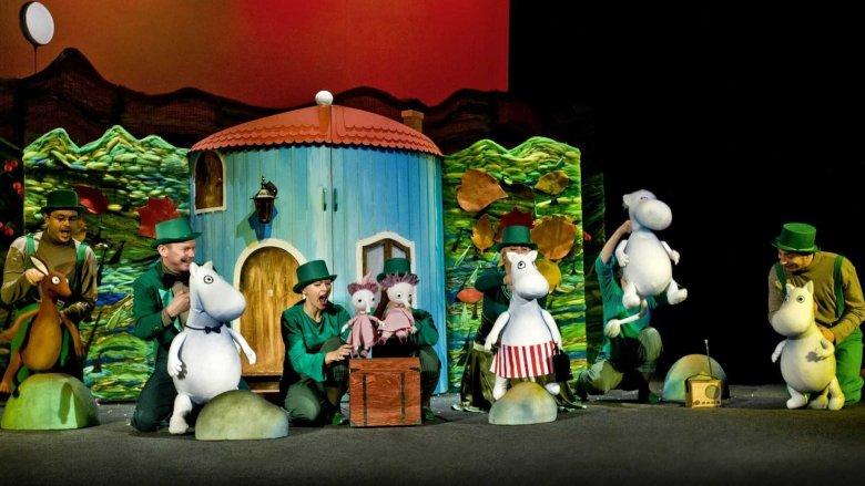Muminki Tove Jansson możemy zobaczyć na deskach Teatru Dzieci Zagłębia w Będzinie (fot. TDZ)
