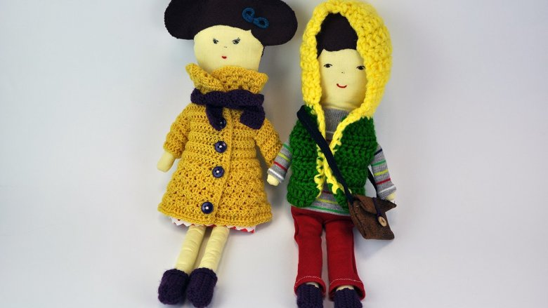 Angelika Szewczyk robi maskotki na szydełku i ze skarpetek. Można je kupić na Byangie24.blogspot.com (fot. materiały autorki)