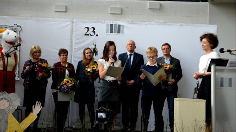 To już 24. edycja Nagrody Literackiej im. Kornela Makuszyńskiego (fot. MBP Oświęcim - zeszłoroczna gala)