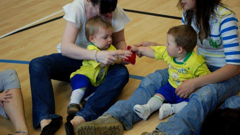 Zajęcia Socatots Piłkarskie Maluszki przeznaczone są dla dzieci w wieku od 6 miesięcy do 5 lat (fot. materiały Socatots)