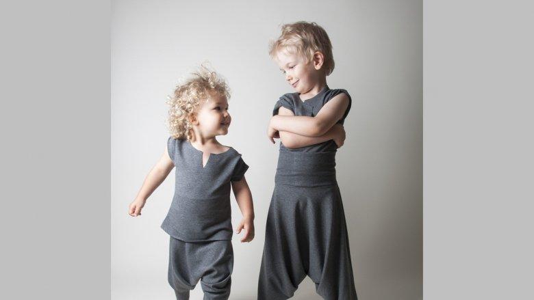 Hultaj Polski tworzy ubrania modne, wygodne i z finezją. Znajdziemy tu bluzy, spodnie, a także śliczne suknie balowe (fot. materiały Hultaj Polski)