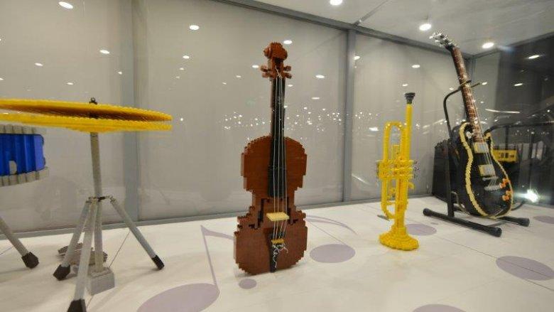 Wystawę Budowli z Klocków Lego można oglądać od 30 kwietnia do 3 lipca (fot. mat. organizatora)