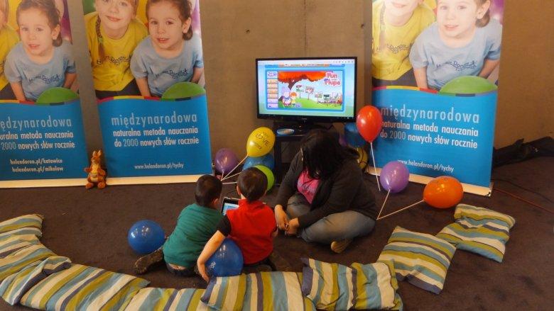 Zarówno w Mikołowie, jak i w Chorzowie Centrum Helen Doron przygotuje dla dzieci kącik gier, zabaw i konkursów (fot. mat. Helen Doron)
