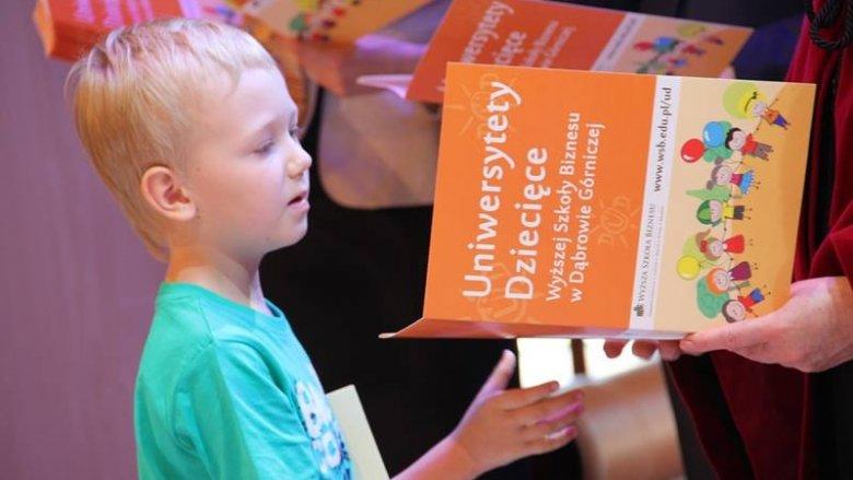 W naszym konkursie można wygrać indeks umożliwiający studiowanie na wybranym Uniwersytecie Dziecięcym (fot. materiały DUD)