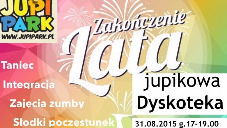Dyskoteka odbędzie się w godz. 17-19 w Jupi Parku w Katowicach (fot. mat. organizatora)