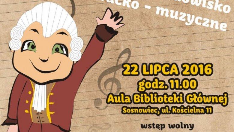 """""""Dzień dobry, Panie Amadeuszu!"""" to bezpłatne widowisko literacko-muzyczne, które odbędzie się w sosnowieckiej bibliotece (fot. mat. organizatora)"""