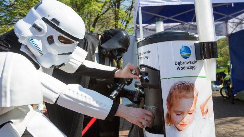 W poprzednich latach bieg odwiedzili bohaterowie z Gwiezdnych Wojen (fot. mat. organizatora)