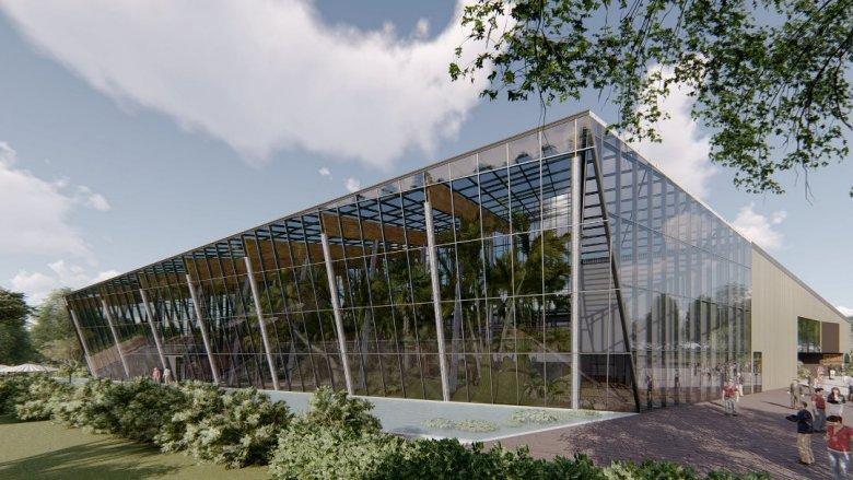 Egzotarium zamieni się w kilkupoziomowe Centrum Edukacji Ekologicznej-Egzotarium (fot. mat. UM Sosnowiec)
