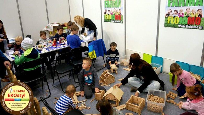 Rodzice będą mogli zostawić pociechy w przedszkolu Eko Farma, gdzie w formie zabaw poznają ekologiczne zachowania (fot. mat. organizatora)