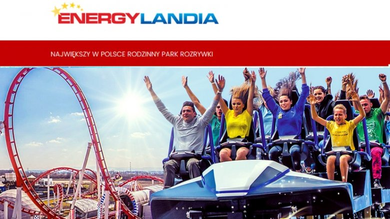 4 bilety dla całej rodziny są do Energylandii wygrania w naszym konkursie (fot. mat. parku)