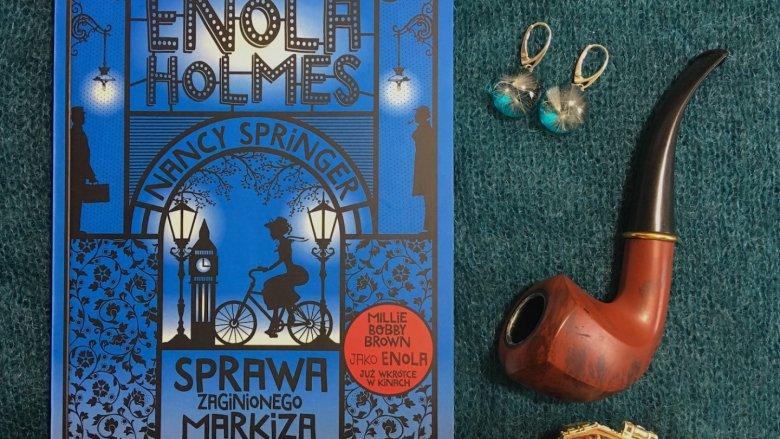 Przygody Enoli Holmes zainteresują dzieci, młodzież, ale i dorosłych (fot. Ewelina Zielińska/SilesiaDzieci.pl)