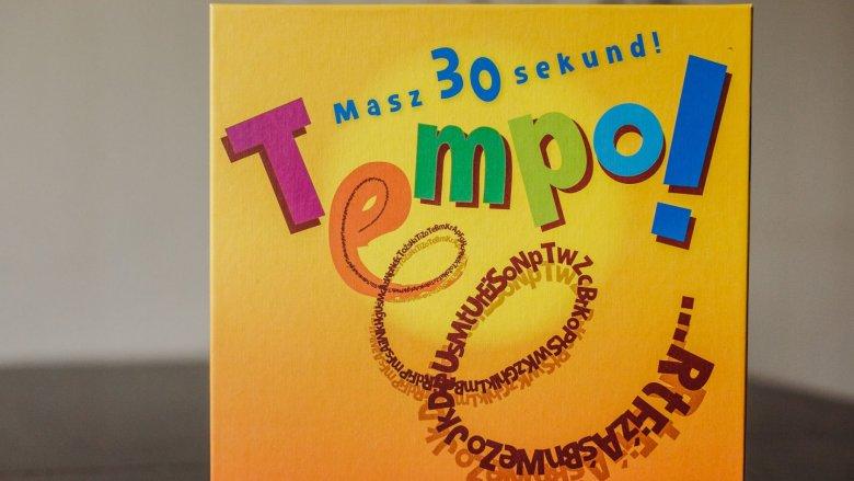 """""""Tempo!"""" to dynamiczna i emocjonująca gra rodzinna od wydawnictwa Granna (fot. Ewelina Zielińska)"""
