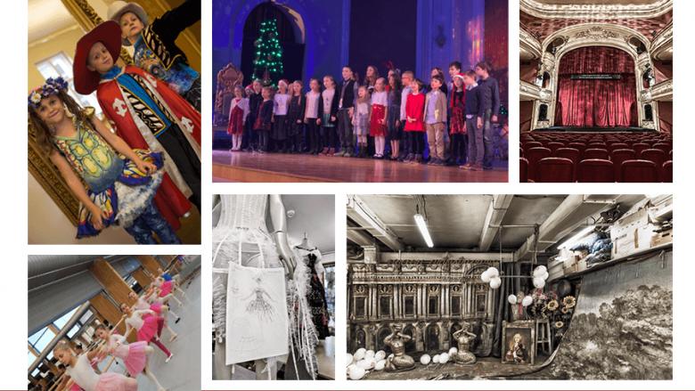 Dzieci zwiedzą budynek Opery i wezmą udział w ciekawych zajęciach (fot. mat.organizatora)