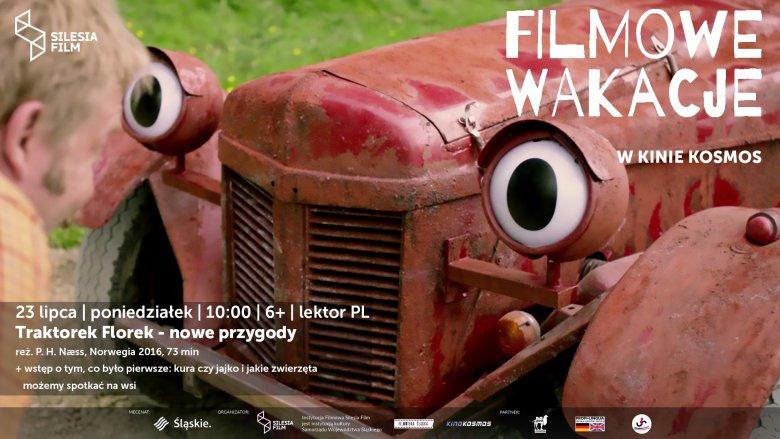 23 lipca dzieci będą miały okazję ponownie spotkać się z Traktorkiem Florkiem (fot. mat. organizatora)