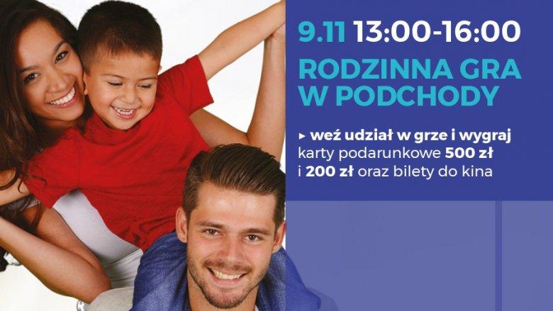 Rodzinna gra terenowa, to świetny sposób na ciekawe i aktywne spędzenie sobotniego popołudnia (fot. mat. organizatora)