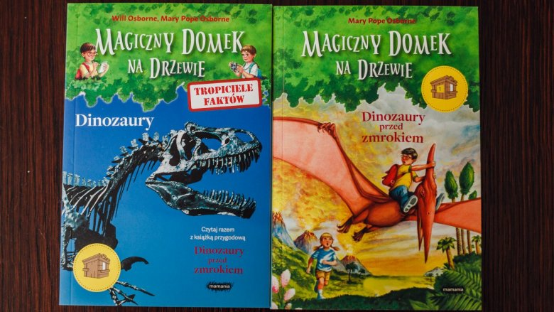 """""""Magiczny domek na drzewie"""" to seria książek dla dzieci w wieku 6-9 lat od wydawnictwa Mamania (fot. Ewelina Zielińska)"""