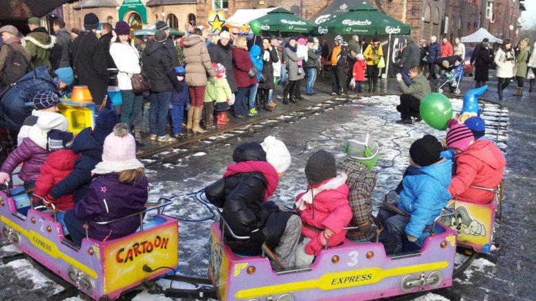 W weekend (7-8 grudnia) odbył się jarmark świąteczny na Nikiszowcu (fot. dok)