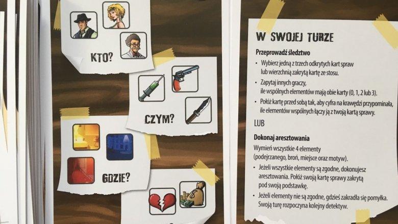 Jednym z zadań jest wytypowanie mordercy (fot. mat. Ewelina Zielińska/SilesiaDzieci.pl)