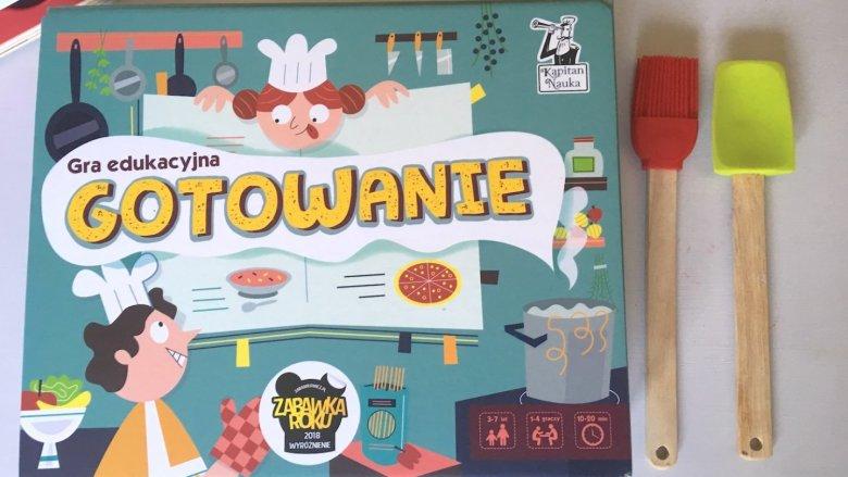 """""""Gotowanie"""" to gra edukacyjna dla dzieci w wieku 3-7 lat (fot. Ewelina Zielińska/SilesiaDzieci.pl)"""