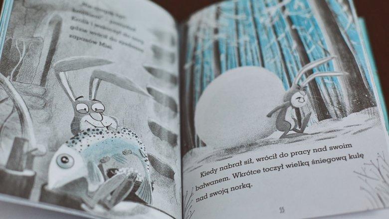 """""""Królik i Misia"""" to zaskaująca i pełna humoru opowieść o przyjaźni od wydawnictwa Zielona Sowa (fot. Ewelina Zielińska)"""