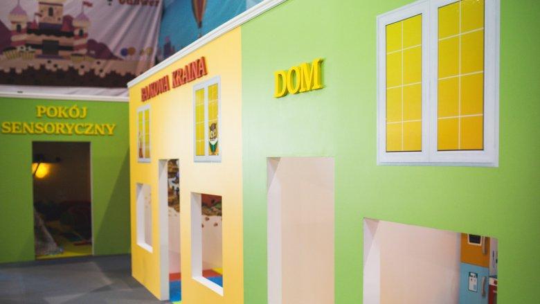 Pokój sensoryczny przygotowany został z myślą o najmłodszych dzieciach, a także tych o różnym stopniu niepełnosprawności (fot. mat. bawialni)