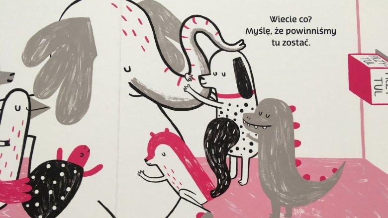 """Bohaterowie """"Guzikowej książki"""" wciąż napotykają na swej drodze przyciski (fot. Ewelina Zielińska/SilesiaDzieci.pl)"""