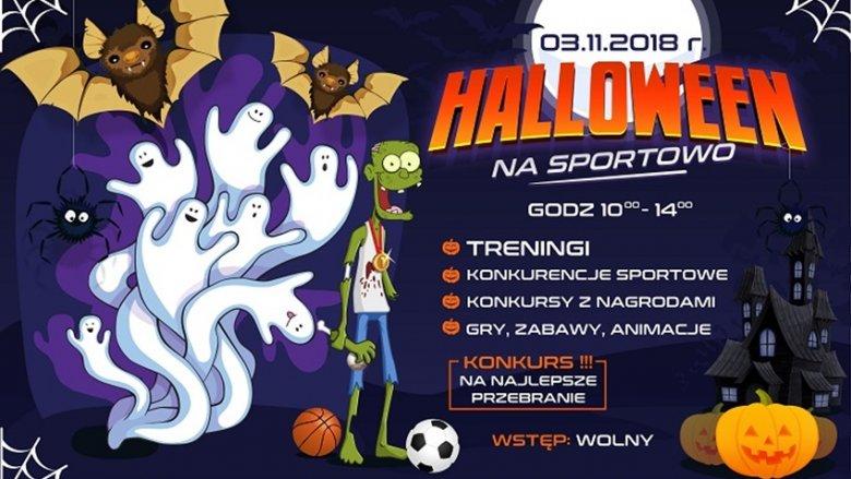 Halloween na sportowo odbędzie się 3 listopada w Hali Widowiskowo-Sportowej w Sosnowcu (fot. mat. organizatora)