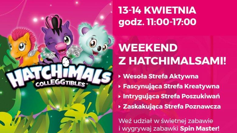 Zabawa z Hatchimalsami będzie odbywać się w kilku strefach atrakcji (fot. mat. organizatora)
