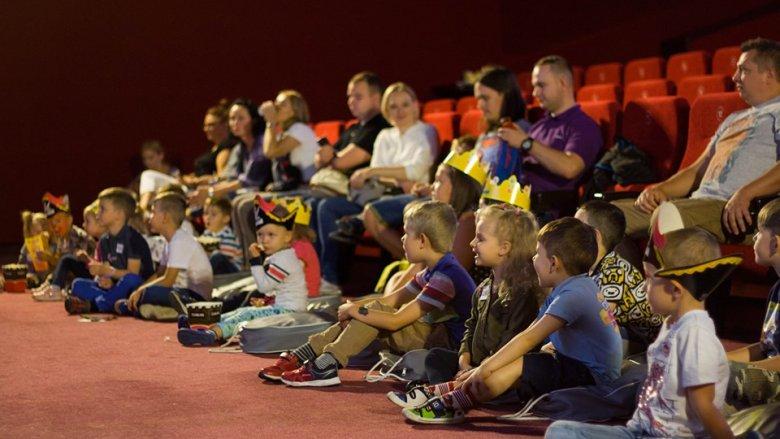Kino Helios organizuje wiele ciekawych spotkań dla najmłodszych (fot. mat. Fb Helios dla Dzieci)