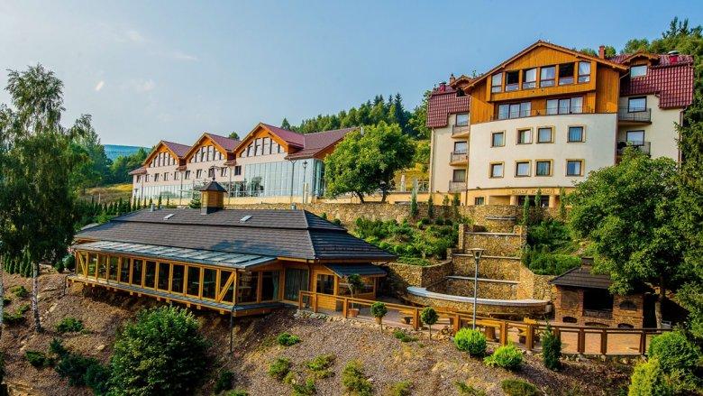 Hotel Biały Kamień znajduje się w Świeradowie-Zdroju, w południowo-zachodniej części woj. dolnośląskiego (fot. mat. Hotelu)