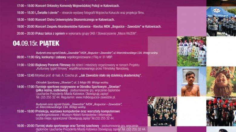 W ramach I Dni Zawodzia zorganizaowano wiele wydarzeń sportowych i kulturalnych (fot. mat. organizatora)