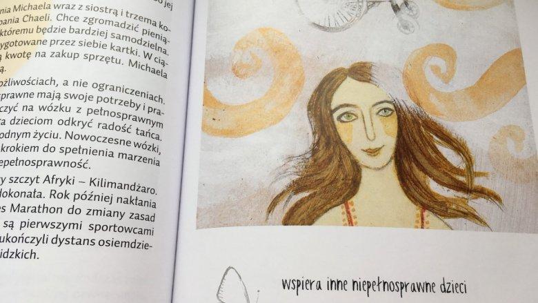 W książce znajdują się autentyczne historie dzieci, które zmieniły świat (fot. Ewelina Zielińska/SilesiaDzieci.pl)
