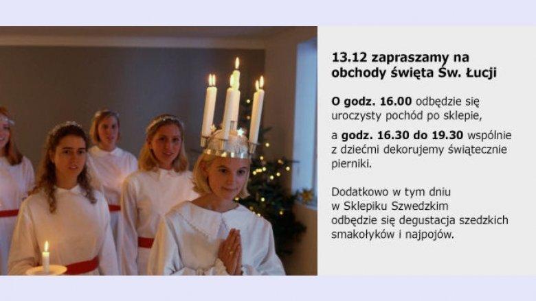 13 grudnia w IKEA z okazji Dnia św. Łucji przejdzie orszak dziewczyn ze świecami i wiankami na głowach (fot. materiały IKEA)