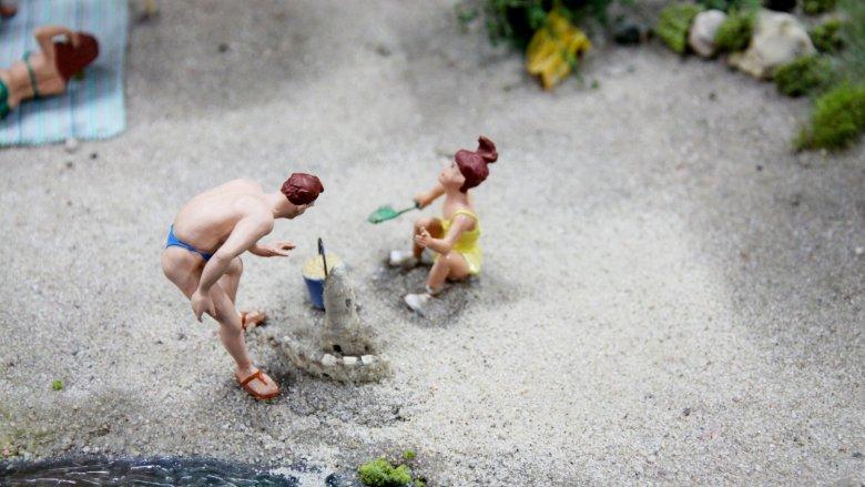 Dzieci do 3. roku życia zwiedzają Kolejkowo za darmo (fot. mat. organizatora)
