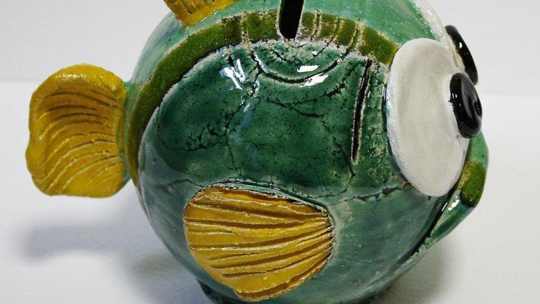 Ferdynand - oryginalna skarbonka, projektu gliwickiej artystki, jest do wygrania w naszym konkursie (fot. materiały Studia ACM)