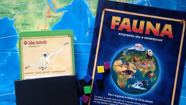 """""""Fauna"""" to rodzinna gra edukacyjna o zwierzętach od wydawnictwa Rebel (fot. Ewelina Zielińska)"""