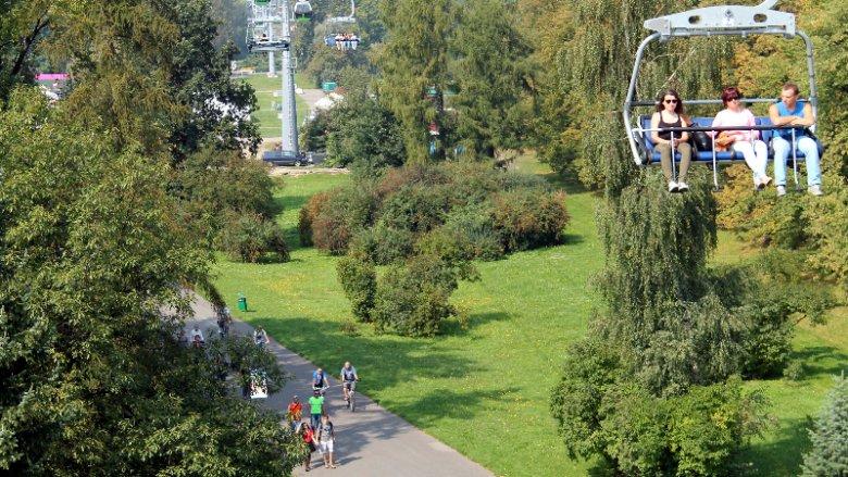 Z atrakcji Parku Śląskiego można skorzystać posiadając jeden bilet (fot. mat. Park Śląski)