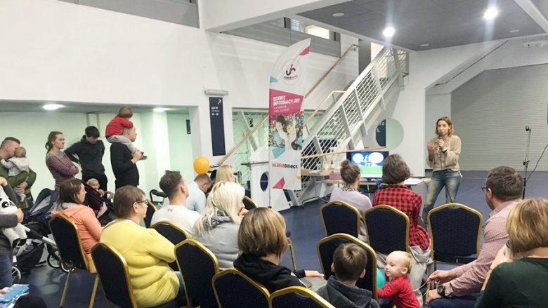Podczas targów SILESIA BAZAAR Kids będą odbywać się prelekcje dla obecnych i przyszłych rodziców (fot. mat. SilesiaDzieci.pl)