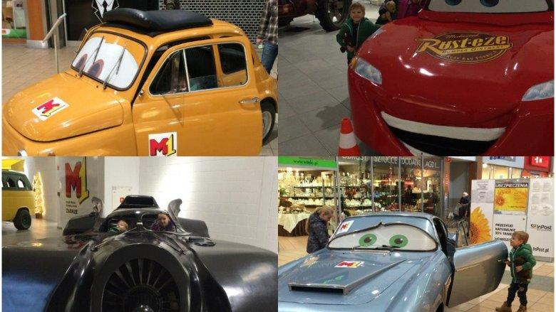 Słynnego Zygzaka McQueena i wiele innych filmowych samochodów będzie można obejrzeć w M1 w Bytomiu (fot. mat. Silesia Dzieci)