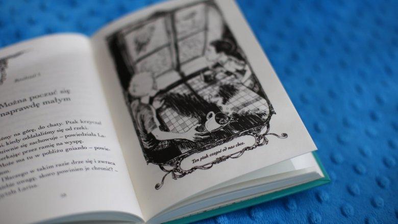 """""""Pieśń szamana"""" to kolejna część przygód Dawida i Larisy napisana przez Martina Widmarka (fot. Ewelina Zielińska)"""
