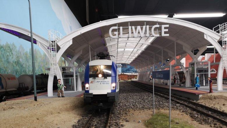 Dworzec PKP w Gliwicach - również w miniaturze (fot. mat. organizatora)