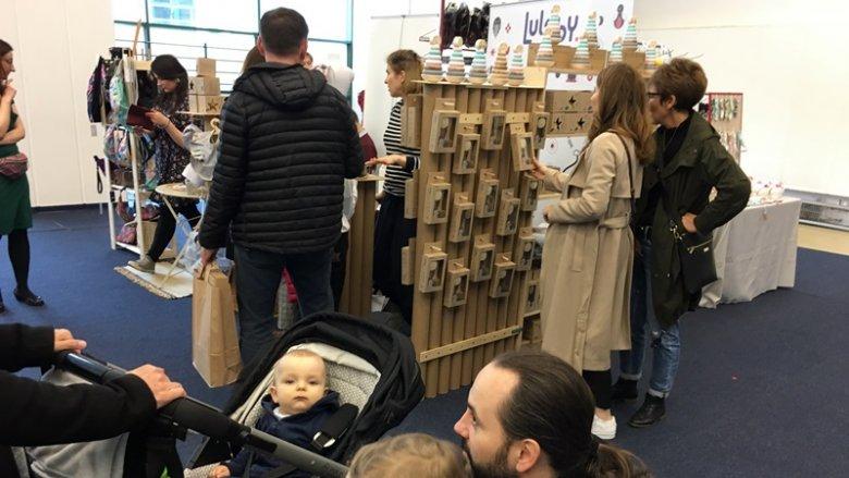 Targi SILESIA BAZAAR Kids na Stadionie Śląskim w Chorzowie przyciągnęły wiele rodzin (fot. mat. SilesiaDzieci.pl)