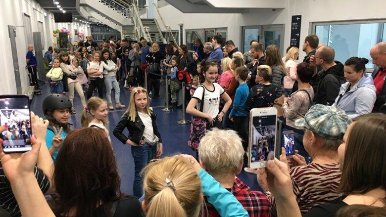 Pokaz mody w wykonaniu podopiecznych Uniwersytetu Śląskiego Dzieci wzbudził bardzo wiele pozytywnych emocji (fot. mat. SilesiaDzieci.pl)