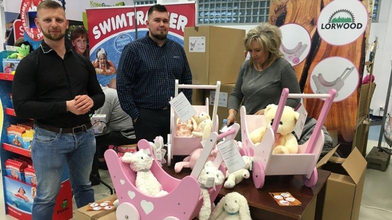 Wśród orygianlych, unikatowych zabawek znalazły się te od firmy Lorwood (fot. mat. SilesiaDzieci.pl)