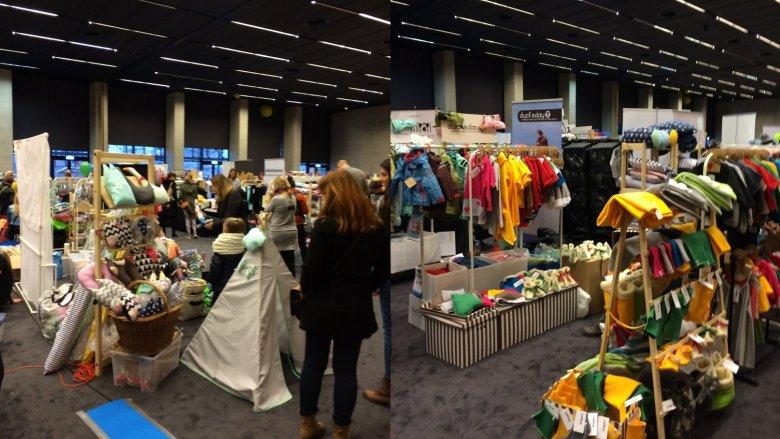 Ubrania, akcesoria, dekoracje i zabawki - wszystko tworzone z myślą o dzieciach (fot. mat. Silesia Dzieci)