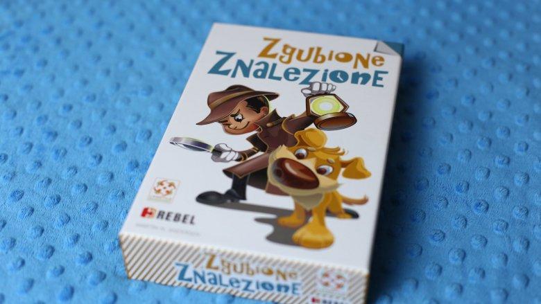 """""""Zgubione znalezione"""" to świetna gra dla dzieci lubiących detektywistyczne zagadki (fot. Ewelina Zielińska)"""