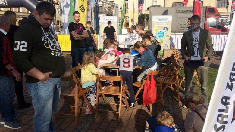 Dzieci świetnie się bawiły w ostatni dzień Rajdu Śląska (fot. mat. SilesiaDzieci.pl)